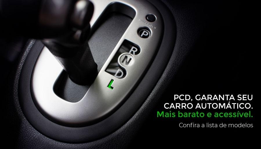 Carros automáticos com preços mais baixos para PCD!