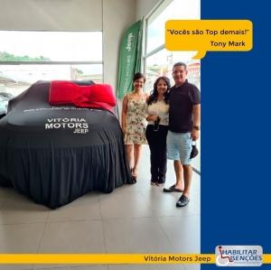 <p>A HABILITAR ISENÇÕES fez mais uma família feliz! 😍<br /> ⠀<br /> O processo de isenção de impostos foi concluído e o Tony Mark comprou um Jeep Compass Diesel na Vitória Motors Jeep! 🚙<br /> ⠀<br /> LEGAL DEMAIS!<br /> ⠀<br /> E você, PCD? Faça igual O Tony Mark! Entre em contato com a HABILITAR ISENÇÕES!</p>